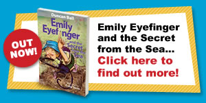 New book Emily Eyefinger and the Secret from the Sea